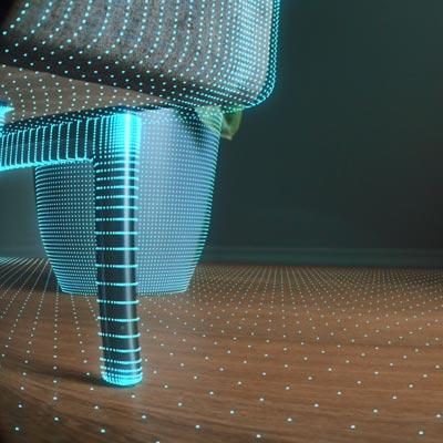 Een robotstofzuiger kan de hele omgeving 3D scannen, meubels zoals banken en stoelen
