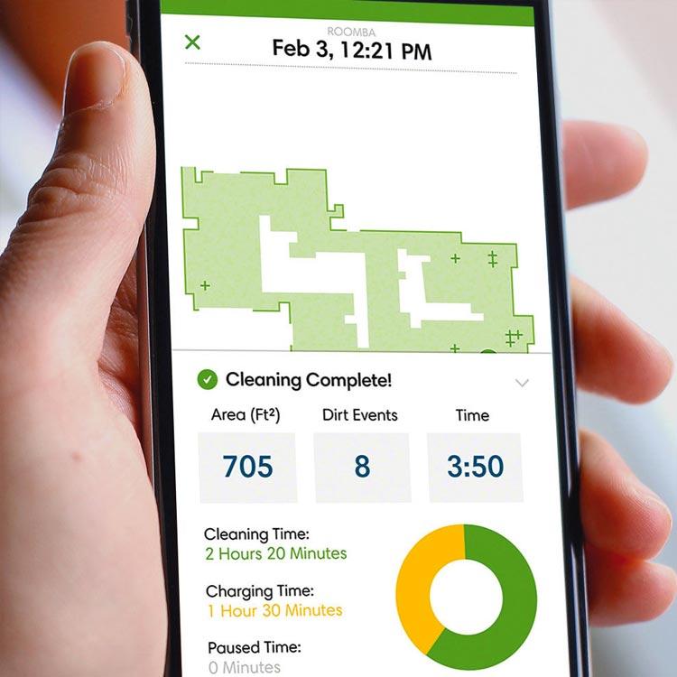 iRobot HOME iOS voor Roombas 960, 980